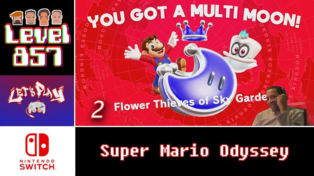 Super Mario Odyssey Gameplay 857 Entertainment